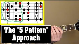 How to Solo Within a Key (aka. Diatonic) Across the Neck Using only 3 to 5 Patterns