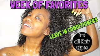 Best Leave In Conditioners/ Moisturizers for Natural Curly Hair!