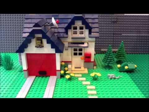 The LEGO Bath Car Movie