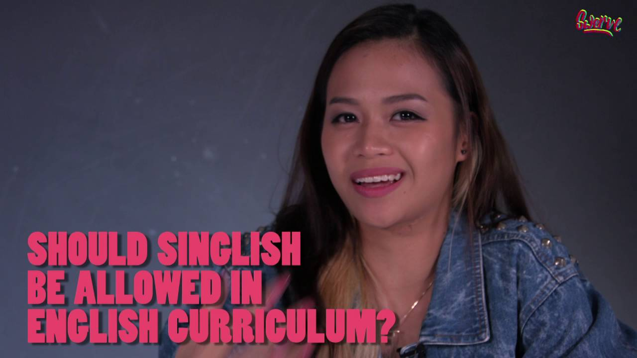 should singlish be banned It should also be noted that singlish itself consists of a diverse continuum ranging from an acrolect that is very similar it means to be banned/silenced in a.