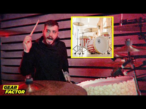 Ice Nine Kills Drummer Crushes 'Your Number's Up' on Movie Popcorn Kit
