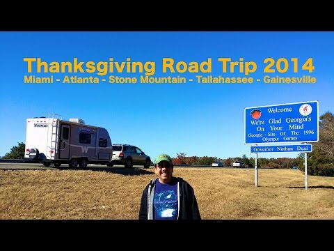 Thanksgiving Road Trip 2014 - Atlanta - Tallahassee - Gaines