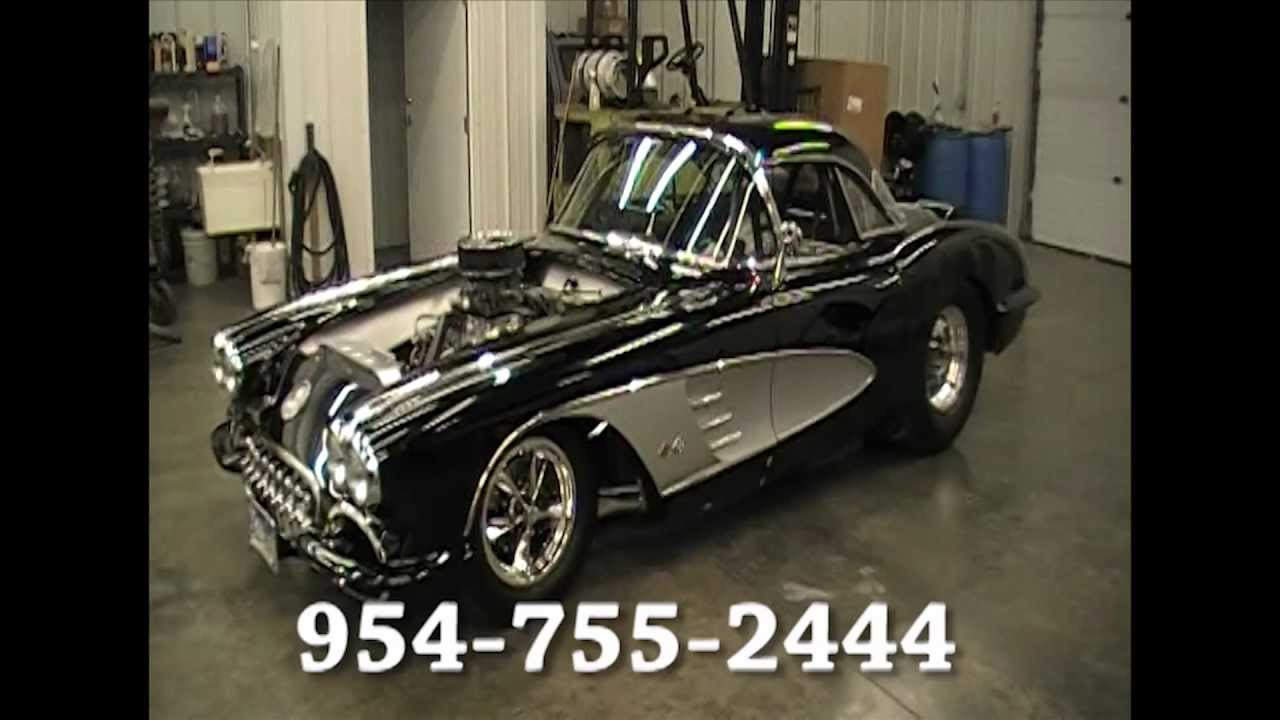 Pictures Of Corvettes >> 1958 Corvette For Sale NOT PRO-TOURING OR PRO-STREET Street Machine Nationals - YouTube