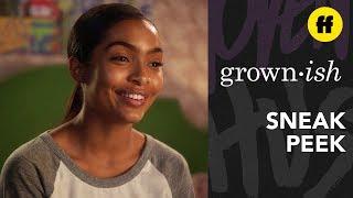 grown-ish Season 2, Episode 6 | Sneak Peek: Michelle Obama is Coming to Cal U | Freeform