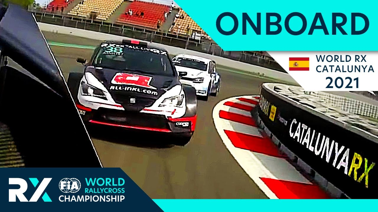Onboard Compilation - World RX of Catalunya 2021