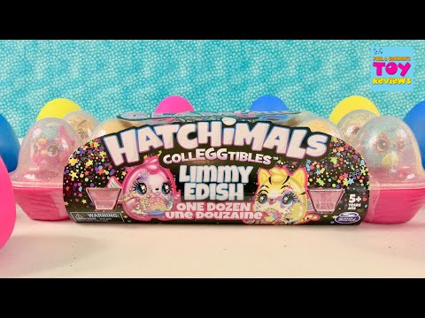 Hatchimals CollEGGtibles GlamFetti Limmy Edish Collectible Figure Unboxing | PSToyReviews