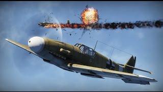 Стрілянина на BF 109-F4. Невеликий fragmovie. СБ.