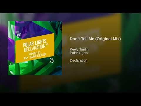 Don't Tell Me (Original Mix)