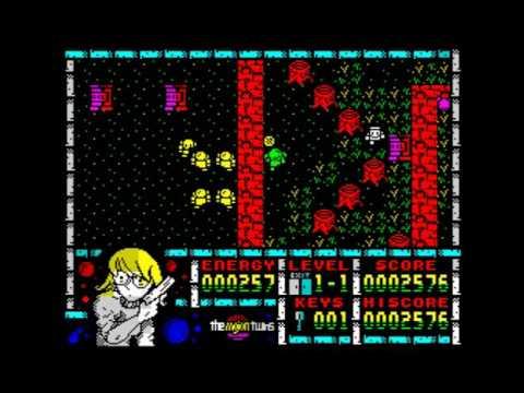 Maritrini, Freelance Monster Slayer Walkthrough, ZX Spectrum