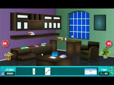 Office room Escape Walkthrough (N media) - YouTube