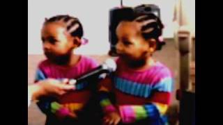 super amazing 2 year old twins sing pleasure p s i did you wrong subscribe
