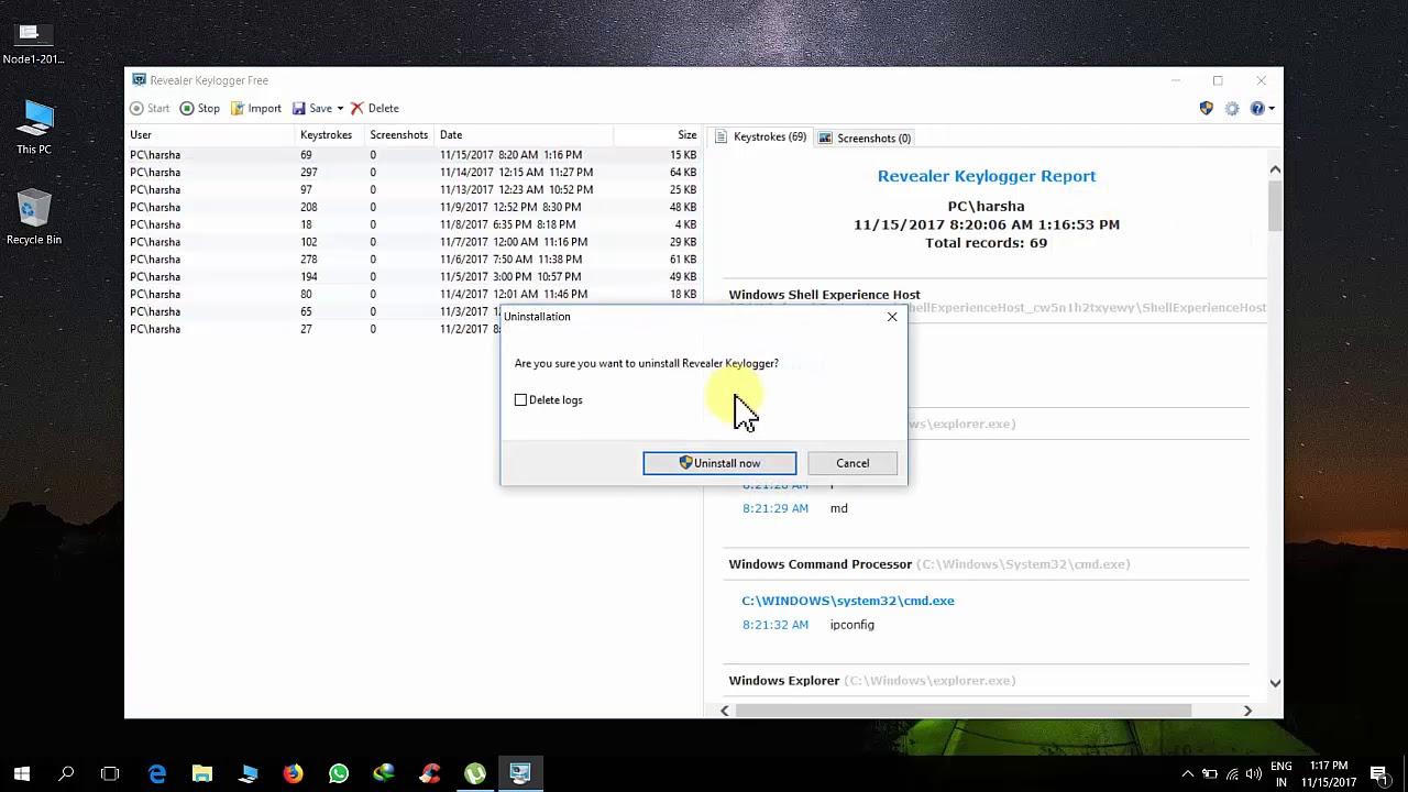How To Uninstall Revealer Keylogger - YouTube How To Uninstall Revealer Keylogger