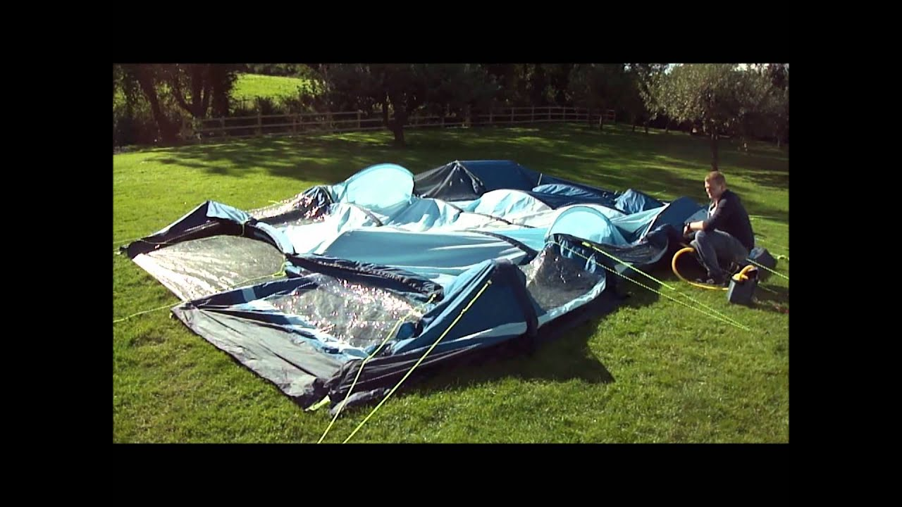 Kampa Filey 6 Air-Frame Inflation Video - YouTube