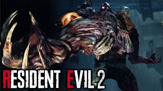 Resident Evil 2 - All Bosses [Hardcore, No Damage]