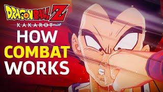 How Combat Works in Dragon Ball Z: Kakarot