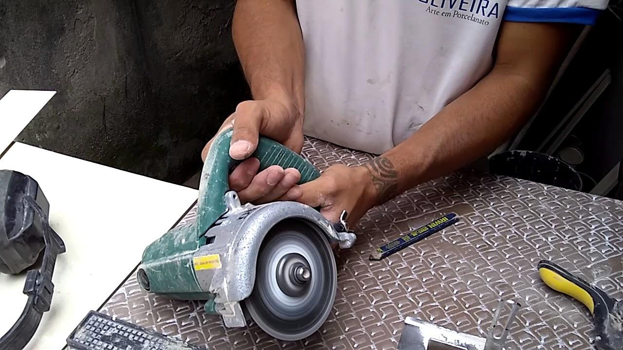Serra Marmore Para Fazer Corte 45 Graus Cuba De Pia Esculpida