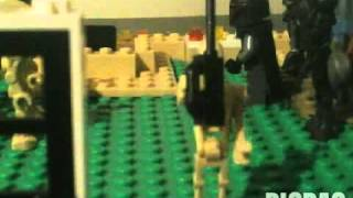 Lego star wars stop motions:The droid party pt 1