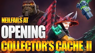 Dota 2 Neilfails at Collector's Cache II 2019 Opening