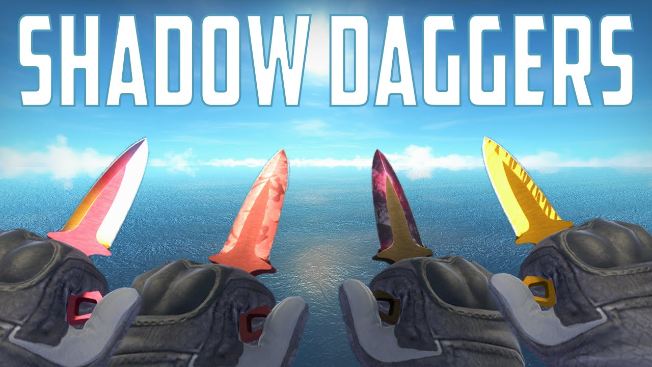 CS:GO - Shadow Daggers - All Skins Showcase
