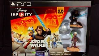 Disney Infinity 3.0 Starter Pack TWILIGHT OF THE REPUBLIC- PS3 (Anakin & Ahsoka) UNBOXING + REVIEW