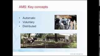 Automatic Milking Systems – Generalities