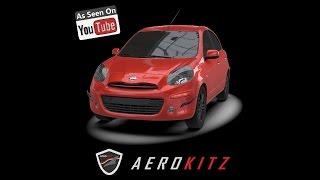 Video Aerokitz, Aksesoris Modifikasi Nissan March (Energic Style) download MP3, 3GP, MP4, WEBM, AVI, FLV Maret 2018