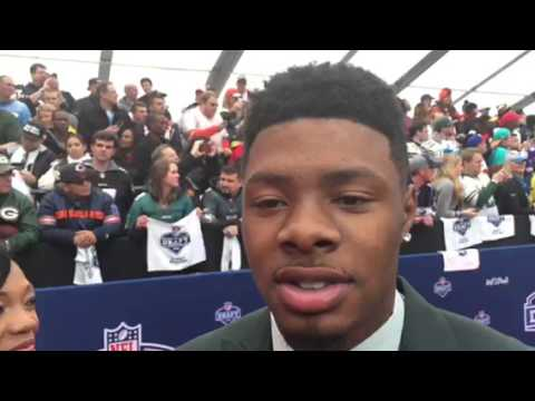 Cory Coleman NFL Draft Red Carpet Interview #NFLDraft