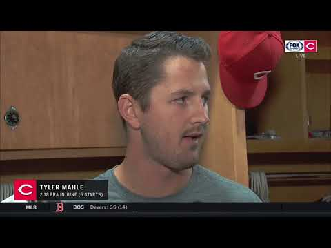 Reds Starter Tyler Mahle Talks About Throwing A Career-high Twelve Strikeouts