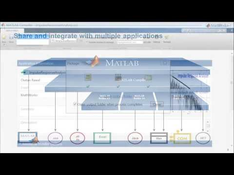 Share Your MATLAB Applications Using MATLAB Compiler
