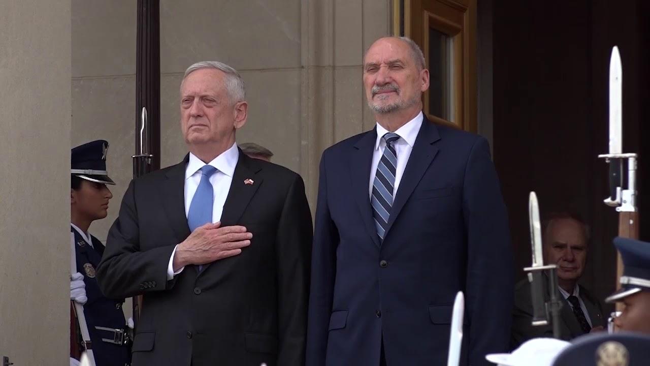 Minister Antoni Macierewicz w Pentagonie