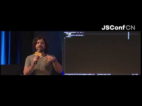 Programming the Universal Future with Next.js - Guillermo Rauch · JSConf China 2017