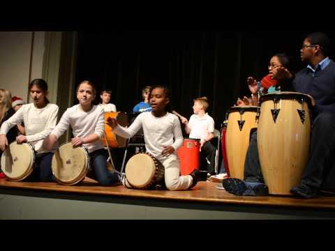 Germantown Friends School Lower School World Percussion Ensemble