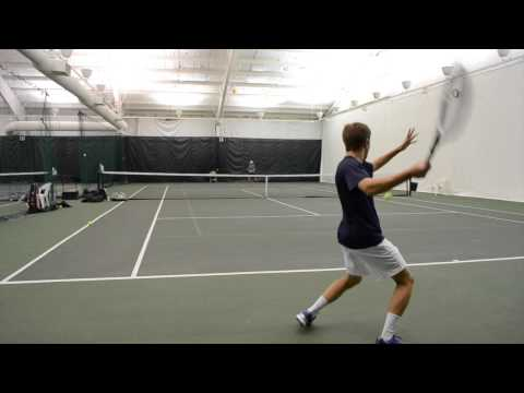 2015 College Tennis Recruiting Video - Cormac Chester