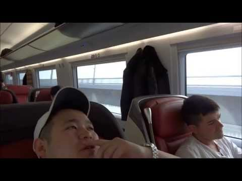 High Speed Train from Shanghai to Beijing