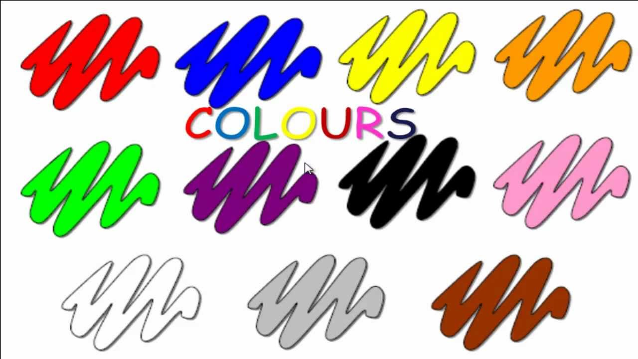 22 Colours Renkler Youtube