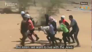 "Gazan: We Want To Live Under The ""Merciful"" Jews thumbnail"