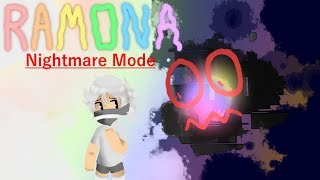 ROBLOX Ramona ~ Nightmare Mode Gameplay & Cutscene