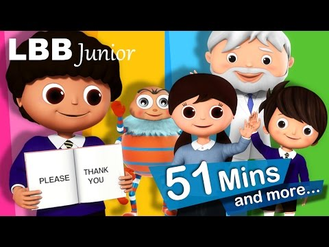 Please And Thank You Song | And Lots More Original Songs | From LBB Junior!