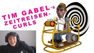 REAKTION AUF TIM GABEL BIZEPS CURLS