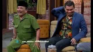 Haji Bolot Meninggal tertabrak truk Heboh di Ini Talk Show