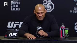 UFC 230: Ronaldo Jacare Souza Post-Fight Press Conference