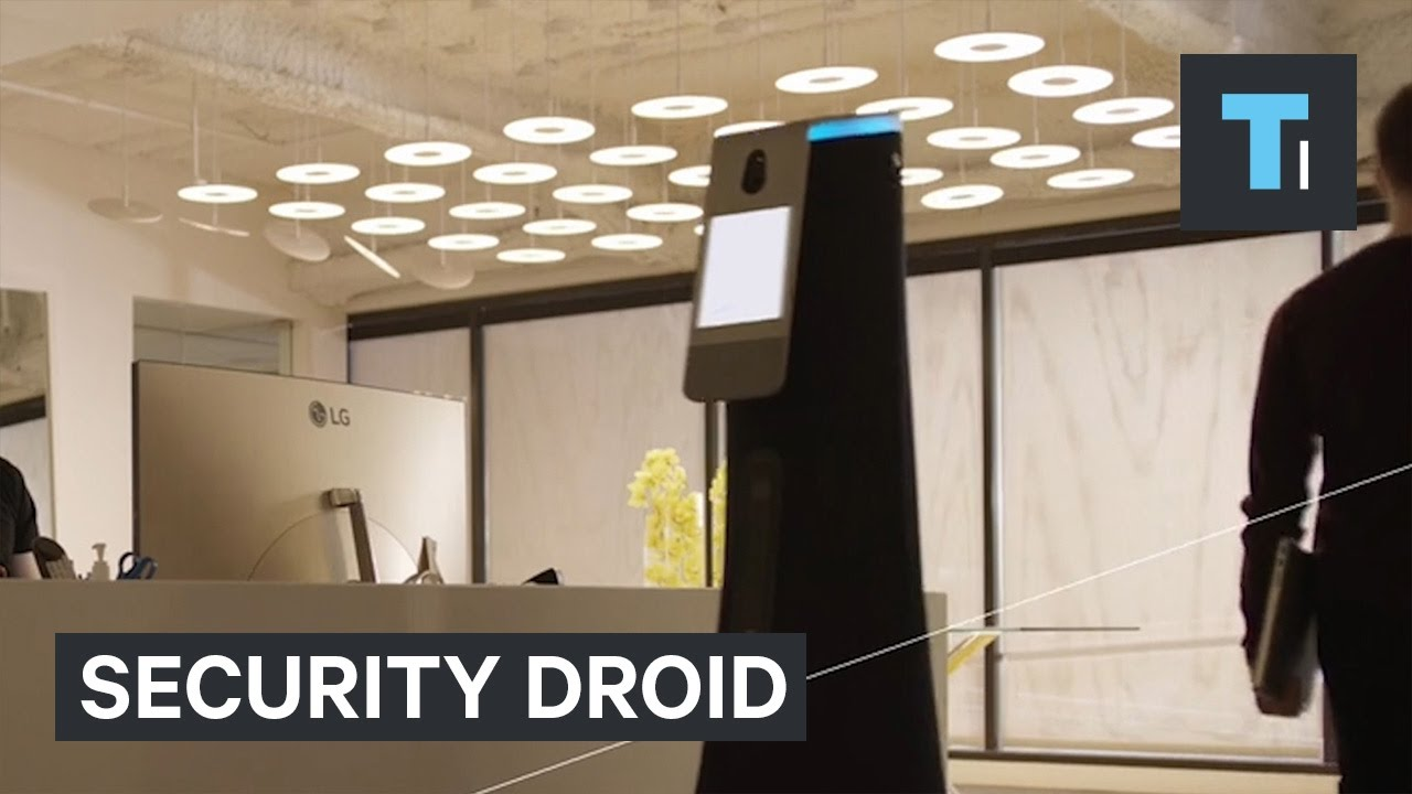 This security droid could soon be protecting your workplace