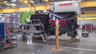 Выпуск комбайна TUCANO на заводе CLAAS в Краснодаре(, 2017-03-08T11:43:54.000Z)