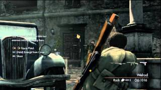 Sniper Elite V2 PS3 Walkthrough Part 1 HD
