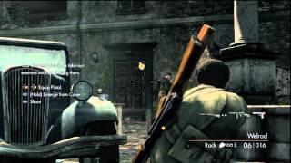 Sniper Elite V2 PS3 Walkthrough Part 1 HD