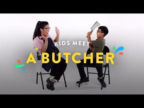Kids Meet A Butcher | Kids Meet | HiHo Kids