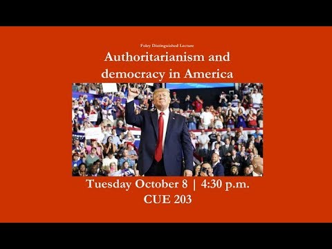 Authoritarianism and Democracy in America with Steven Levitsky