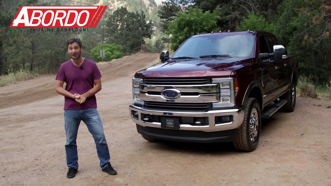 Ford Lobo 2018 >> Ford F-Series Super Duty 2017 – Prueba A Bordo [Full] - YouTube