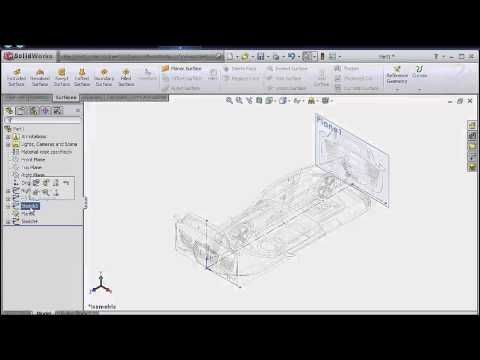 Thiết kế audi bằng solidworks 1