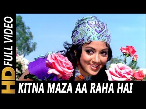 Kitna Maza Aa Raha Hai | Lata Mangeshkar | Raja Jani 1972 Songs | Dharmendra, Hema Malini